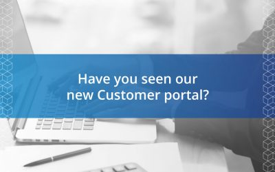 Have you seen our new Customer portal?