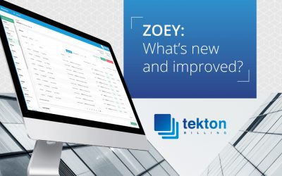 ZOEY: What's new and improved?